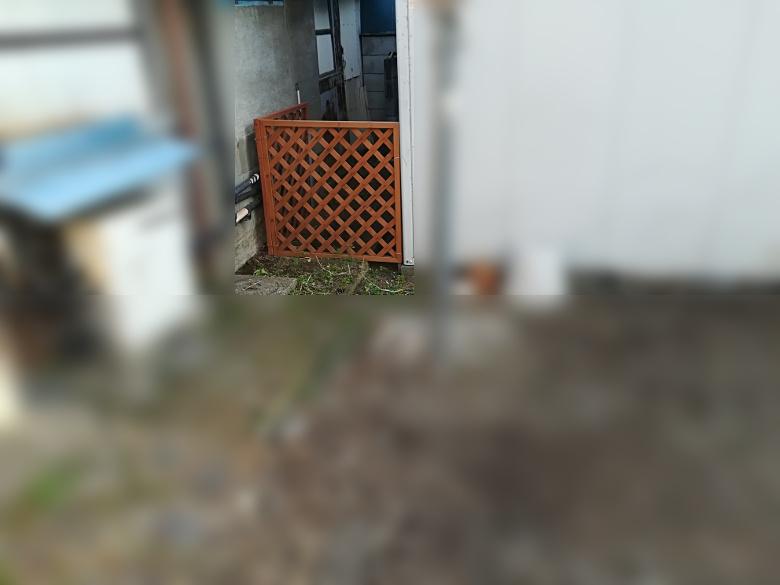 猫よけフェンスの事例