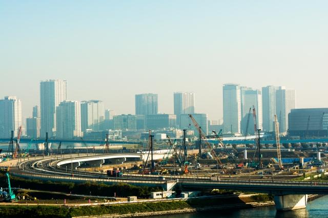 東京オリンピックの工事