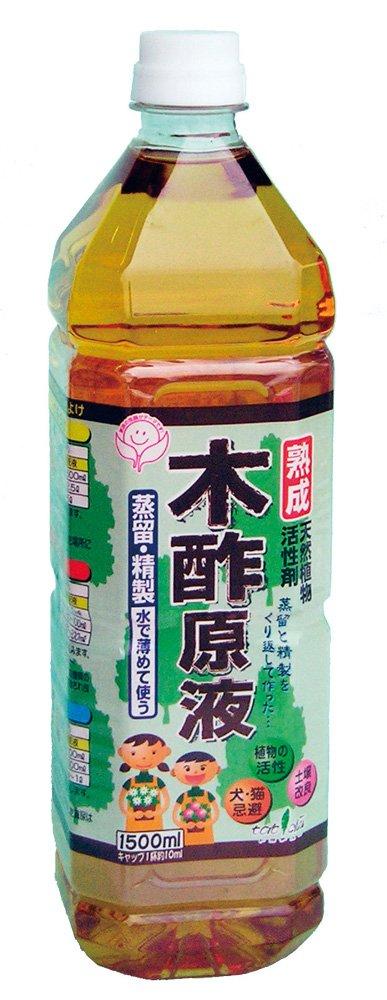 熟成木酢液